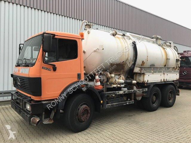 Camion Mercedes K 6x4 K 6x4 Kanalreiniger