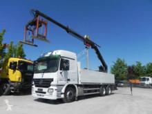 camion Mercedes Actros 2644 6x4 Pritsche Heckkran Hiab XS 166
