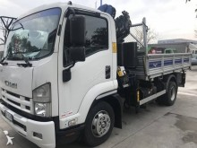 Isuzu three-way side tipper truck