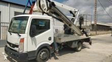 Camión plataforma elevadora Nissan Boom lift truck 35.11 work platform Snake 1