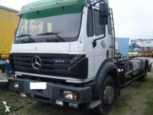 Mercedes hook lift truck