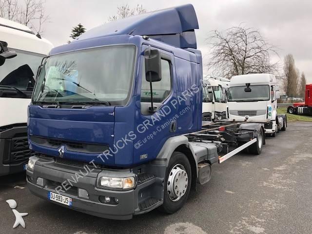 Camion porte containers 542 annonces de camion porte - Camion porte container avec grue occasion ...