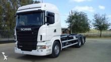 Camión portacontenedores Scania R 480