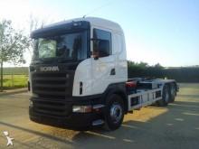 Camión portacontenedores Scania P 420