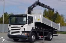 Camión caja abierta Scania P 270