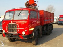 Fiat three-way side tipper truck