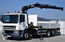 DAF CF 75.250 Pritsche 6,50 m + KRAN / 6x2! truck