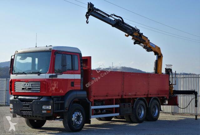 Camion MAN TGA 26.350 Pritshe 6.50m + Kran !!!