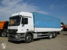 Mercedes Actros 2541 L6x2 Pritsche Plane truck