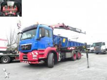 MAN TG-S 28.440 6x4-4 BL 3-Achs Kipper Kran truck