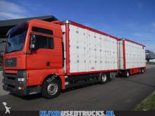camion remorque bétaillère bovins MAN