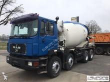 vrachtwagen MAN 32.342 Stetter 9M3 - Manual - Full Steel