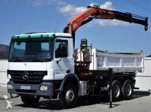 ciężarówka Mercedes Actros 3332 Kipper 5,10 m + Bordmatic 6x4+Kran!