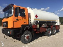 MAN oil/fuel tanker truck