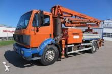 Mercedes concrete mixer + pump truck concrete truck