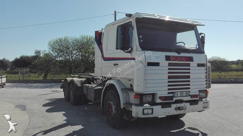 Camion Scania Porte Containers Euro 1 Hauteur Standard 1 Annonces