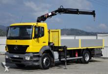 ciężarówka Mercedes Axor 1823 Pritsche 6,30 m + KRAN
