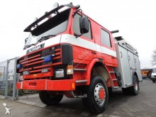 Scania wildland fire engine truck