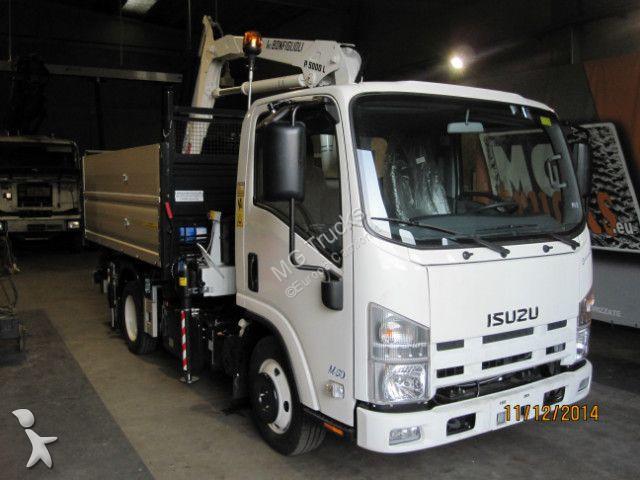 camion isuzu benne m 50 gazoil euro 6 grue occasion n 2667850. Black Bedroom Furniture Sets. Home Design Ideas