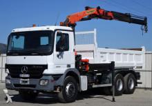 ciężarówka Mercedes Actros 2632 Kipper 5.40m bordmatic + Kran/6x4!