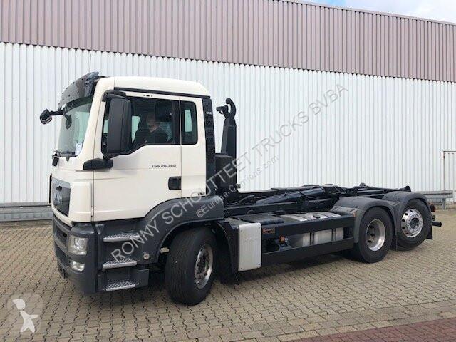 Voir les photos Camion MAN 26.360-400 6x2-4 BL 26.360-400 6x2-4 BL, Intarder, Lenk-Liftachse