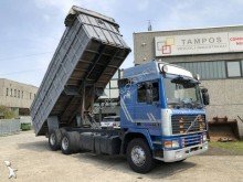 Volvo scrap dumper truck