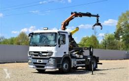 camion Mercedes Actros 1844 Abrollkipper + Kran* Top Zustand!!