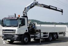 DAF CF 75.250 Pritsche 7,50 m + KRAN / 6x2! truck