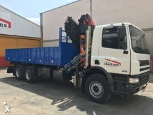 DAF beverage delivery flatbed truck