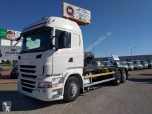 camion fourgon paroi rigide repliable Scania