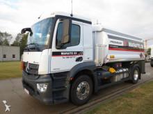 Mercedes chemical tanker truck