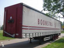vrachtwagen aanhanger met zeilwanden Pacton