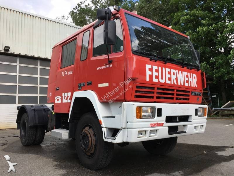 Used Steyr 12S23 chassis truck 4x4 Diesel Euro 0 - n°2693359