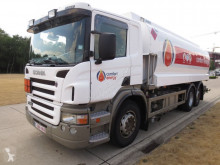 Scania chemical tanker truck