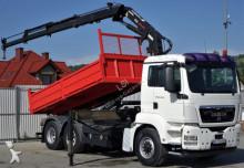MAN TGS 26.440 Kipper 4,80m+Kran 6x4!!! truck