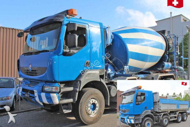 Renault Kerax 450    8x4 truck