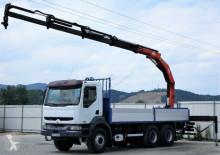 camion Renault *Kerax 420 Pritsche 6,60m*6x4*Neue Reifen!