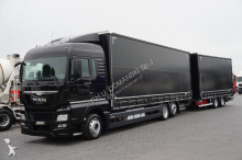 MAN TGX - / 26.400 / E 6 / DŁ. 8,9 M + 6,5 M / ZESTAW + remorque truck