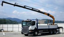 camion Scania P380 *Pritsche 7,10 m + KRAN * 6x4 Top zustand!