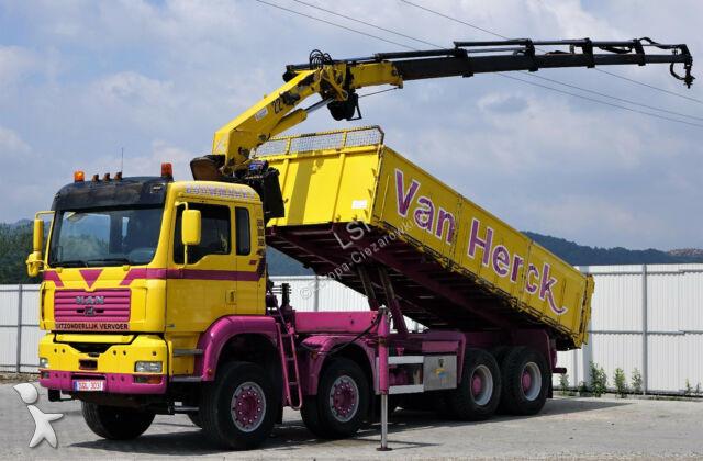 MAN TGA 35.430 Kipper 5,80m + Kran /8x4! truck