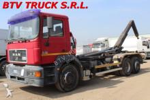 MAN LE 19-403 silent CON GANCIO SCARRABILE truck