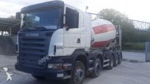 Scania concrete mixer truck