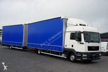 MAN TGL - / 12.250 / E 5 / ZESTAW PRZEJAZDOWY 120 M3 + remorque truck
