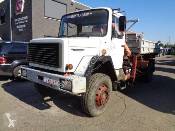 Camion Iveco 160.17 KRAAN SCHUIFT 1 MAAL UIT / 1 LEIDING