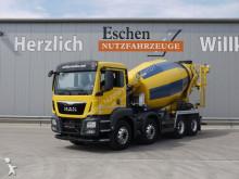 MAN TGS 32.400 8x4 BB, 9 m³ Stetter, !! 44 Tsd. Km!! truck