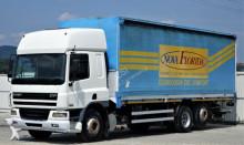 DAF CF 75.310 Pritsche + Plane 8,20 m Ladebordwand truck