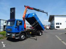 camion MAN TGM 18.280 4x2 BB Kipper + Kran PK 10501 + Funk