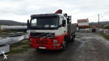 Camión caja abierta Fassi VOLVO - CAMION GRUA VOLVO 420 4X2 2001