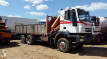 Camión caja abierta Iveco - CAMION GRUA 310 6X4 PALFINGER PK 10000 2005