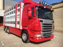 грузовик скотовоз для перевозки крупного рогатого скота Scania